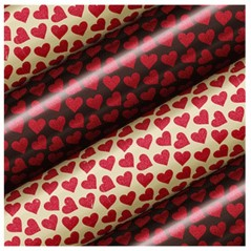 Modecor Transfersheet für Schokolade - Herzen 30 x 40cm