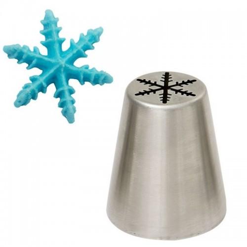 Decora  Spritztüllen  Snowflake No.75