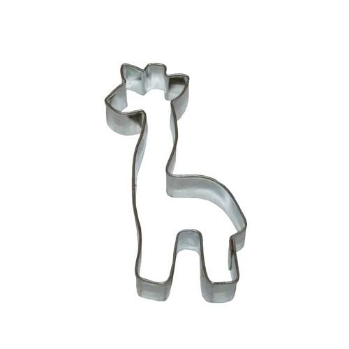 Edelstahl ausstecher - Giraffe