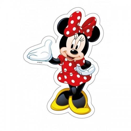 Essbare Papier Silhouette - Minnie  25cm / 1ks