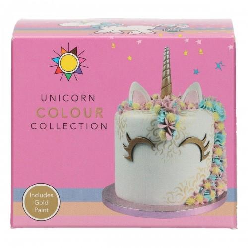 Sugarflair Unicorn Collection - 5ks