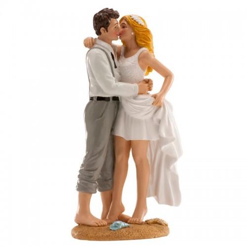 Hochzeitsfiguren - am strand