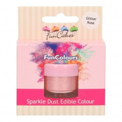 FunColours Puderfarbe Sparkle Dust - Glitter rose - 3,5g