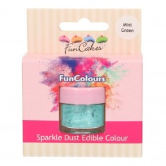 FunColours Puderfarbe Sparkle Dust - mint green - 2,5g