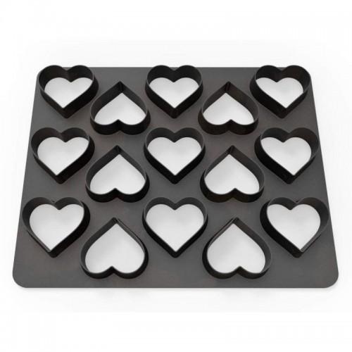 Dekofee  Polycutter - hearts