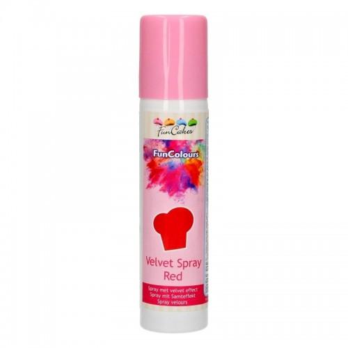 FunColours Velvet  Spray - rot - 100ml