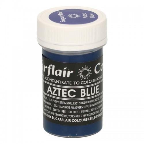 Sugarflair Gelfarbe  Aztec Blue - 25g