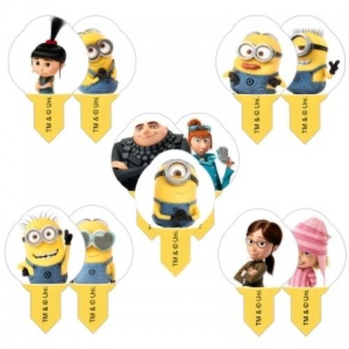 Disney Wafer Sheet - MIX Minions mini  - 10Stück
