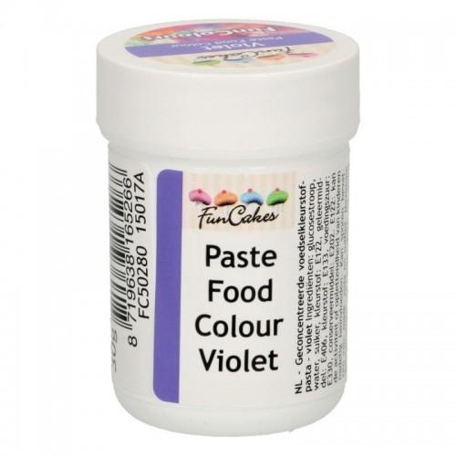 FunColours paste food colour - violett - cup 30g