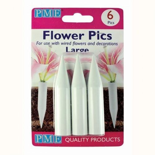 PME Blumen Spitzen - large 6Stück (Flower Spikes)