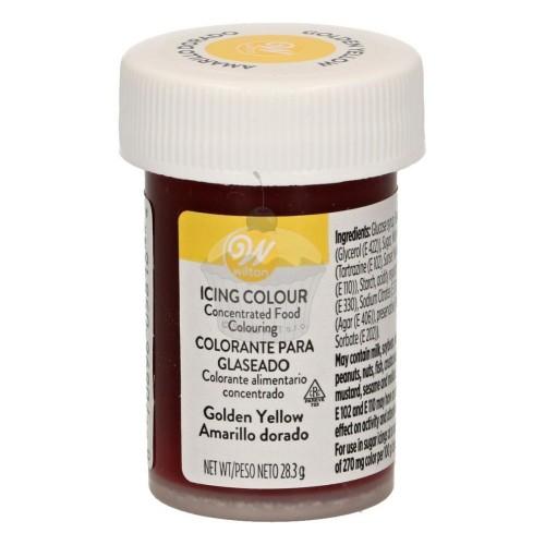 Wilton Icing Color Golden Yellow - goldgelb Gel 28g