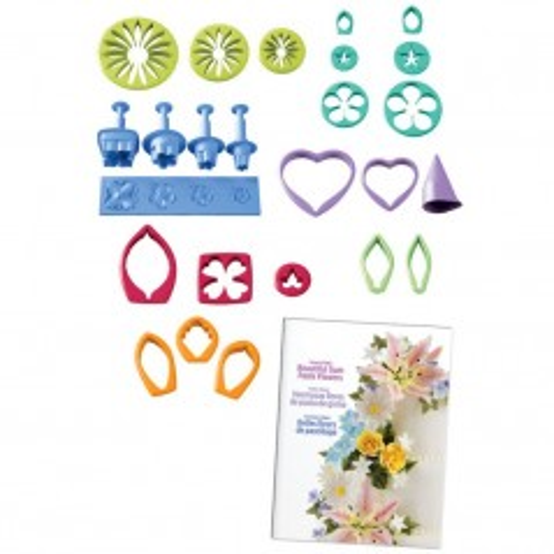 Gum Paste Flowers Cutter Set - Set zur Herstellung von Blumen