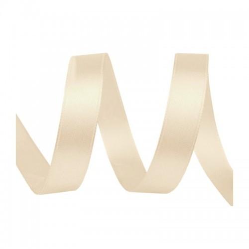 Satin Ribbon -  Elfenbein 20 m / 5 mm