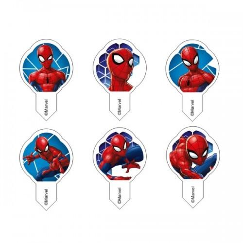 Wafer Sheet - MIX WF Spiderman mini -  12Stück