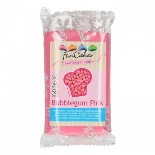 FunCakes Special Edition Geschmacksfondant - Bubblegum  pink -250g