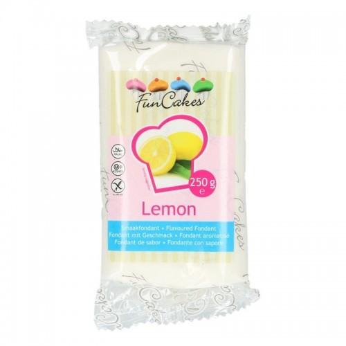 FunCakes Special Edition Geschmacksfondant - Lemon -250g