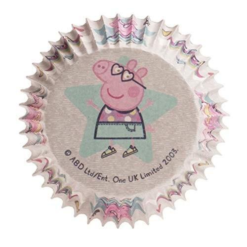 Dekora  Baking Cups - Peppa Pig - hellgrün - 25Stück