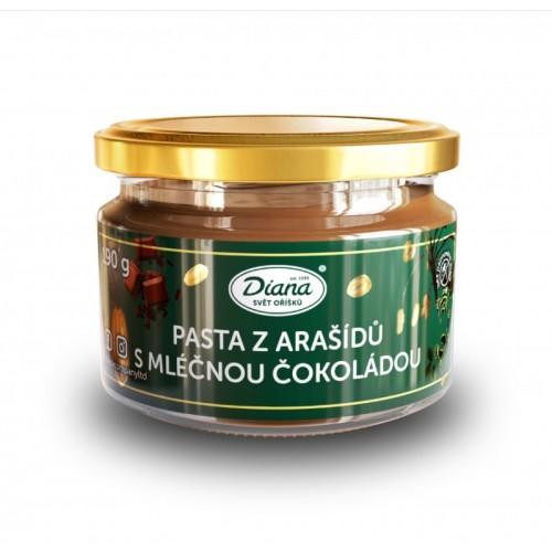 Diana - Erdnusspaste mit Milchschokolade - 250g